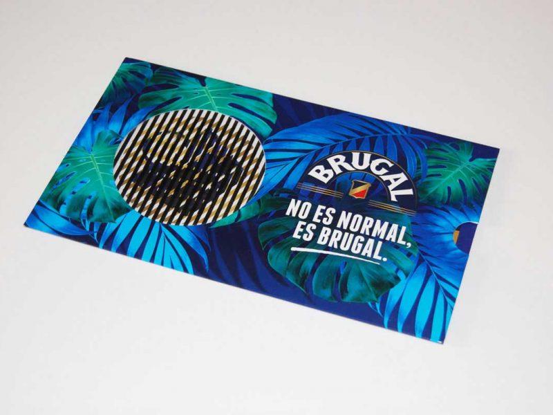Cartolina Concorso Brugal